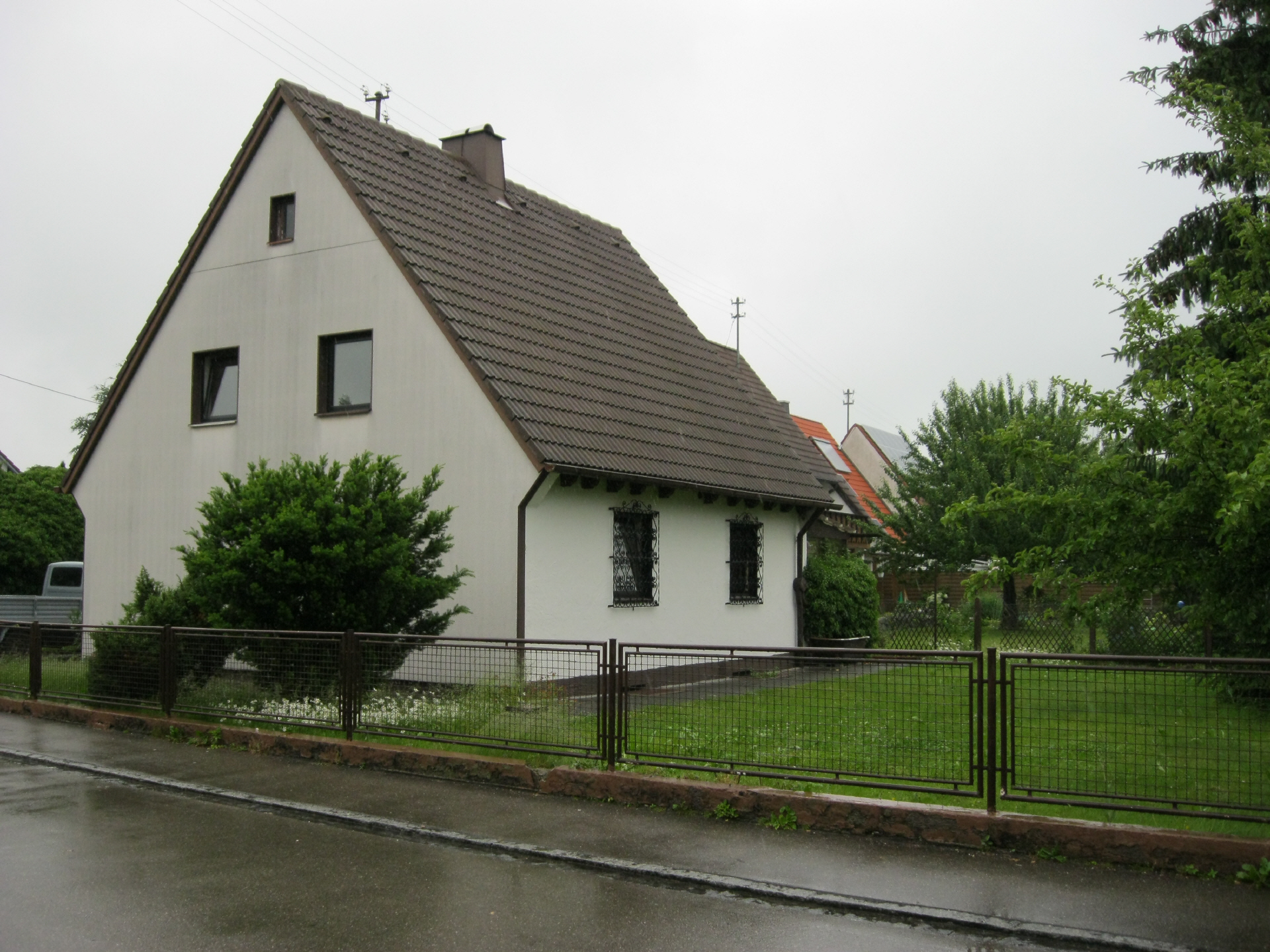 Mein Haus, altes Haus ursprünglich, Haus original vor Renovierung